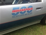 1982 Camaro Indianapolis 500 Pace Car Door Decals, Pair