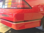 1985 - 1987 IROC-Z and 88-90 Standard Lower Body Stripe Kit, Pre-Molded OE Style
