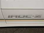 1988-1990 IROC - Z Door Decal - OE Style - Each