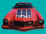 1974 Camaro Z28 Hood Decal
