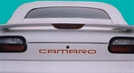 "1993 - 2002 "" CAMARO "" Rear Bumper Name Insert Decal Set"