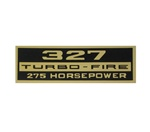 Valve Cover Decal, 327 Turbo-Fire 275 HP