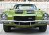 1970 - 1973 Camaro Z28 Stencil Stripe Set Except Rally Sport with Curved Rear