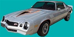 1978 Camaro Z28 Decal Stripe Set