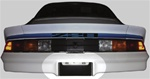 1978 - 1981 Camaro Rear Bumper License Plate Blackout Decal