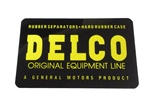 1967 - 1981 Decal, Battery, Delco Original Equipment Line
