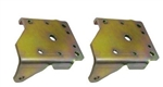 1968 - 1969  Camaro DSE Multi Leaf Shock Plate Set, Pair LH and RH