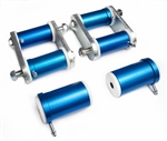 1967 - 1981 Camaro Del-A-Lum Bushings and Shackle Kit for Multi-Leaf