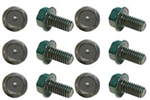 1967 - 1981 Camaro Rear End Cover Differential Bolt Set, 12 Piece