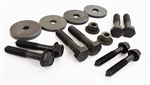 1970 - 1973 Camaro Subframe Body Bushing Mounting Hardware and Bolts, Correct OE Style