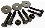 1974 - 1981 Camaro Subframe Body Bushing Mounting Hardware and Bolts, Correct OE Style