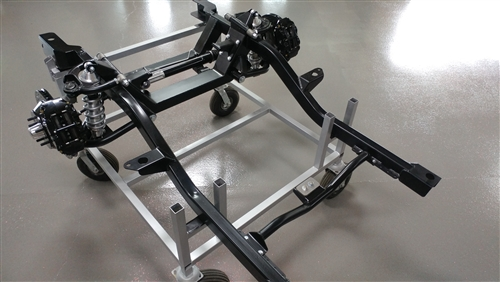 1967 - 1969 Assembled Heidts Camaro Painted Subframe Kit for Small