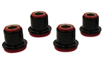 1967 - 1969 Control A-Arm Bushings Set, Upper, Polyurethane, For Stock A-Arms, 4 Pieces
