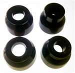 1967 - 1969 Camaro Polyurethane Ball Joint Dust Boot Set, Upper and Lower 4 Pieces