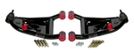 1970 - 1981 Control A-Arm Set (Heidts), Lower, Tubular, Pair, Standard Springs