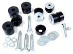 1967 - 1981 Camaro Solid Billet Aluminum Interloc Body Bushings Set, Stock Height