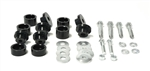 1967 - 1981 Camaro Subframe Body Mount Bushings Set, Self-Locking Interlock Style, 1/2 Inch Drop Height