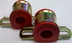 "1967 - 1981 Front Sway Bar Bushings, With Mounting Brackets, 13/16"" Poly Pr"