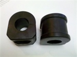 1970-1981 Camaro Front Sway Bar Bushing With Mounting Brackets ( POLY ) PAIR