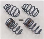 "2010 , 2011 & 2012 Camaro Coupe Front & Rear Coil Springs, 1"" Drop"