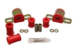 1967 - 1981 Camaro RED Polyurethane Rear Sway Bar Bracket/Bushing Kit, 11/16 Inch Diameter