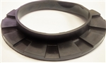 1967 - 1981 Front Coil Spring Insulator Rubber Pad with Lip, Each