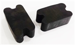 Universal  Front Coil Spring Repair Booster Rubber Lift Blocks, 2""