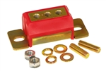 1967 - 1992 Camaro Polyurethane Transmission Mount, RED