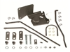 1967 - 1968 Camaro Four Speed Shifter Linkage Install Kit for Saginaw Transmission