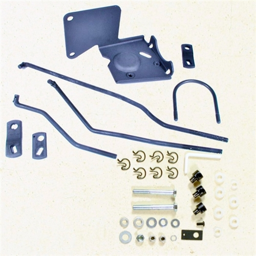 1967 1968 camaro shift linkage install kit for muncie transmission rh camarocentral com