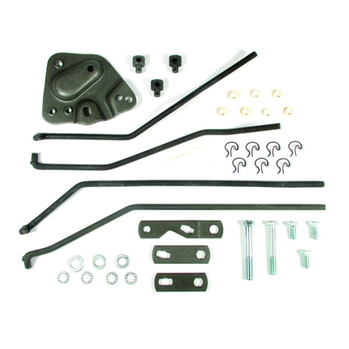 1973 - 1977 Camaro Four Speed Shifter Linkage Install Kit, Saginaw  Transmission