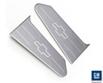 2010 - 2012 Trunk Dect Lid Custom Trim Plate Covers, Chrome