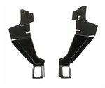 1967 - 1969 Camaro Rear Window Package Tray and Trunk Deck Lid Hinge Mounting Braces Set, Pair