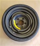 Space Saver Spare Wheel Rim and Tire, Original GM