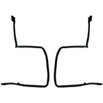 1978 - 1981 Camaro T-Top Rubber Weatherstripping Fisher Style, Pair