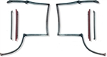 1982 - 1992 Camaro Body T-top Rubber Weatherstrips