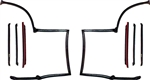 1982 - 1992 Camaro Complete T-Top Roof Rubber Weatherstripping Kit