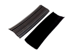 1984 - 1992 Camaro Front Door Glass Inner Rubber Weatherstrip Channel Felts