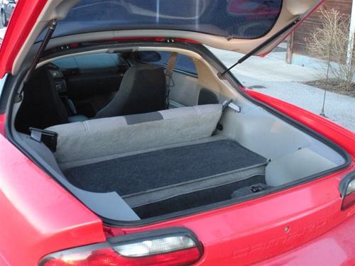 1993 2002 Camaro Trunk Hatch Rubber Weatherstripping