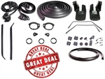 1968 - 1969 Camaro Coupe Rubber Weatherstrip Seal Kit