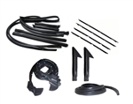 1987 - 1992 Camaro Rubber Weatherstrip Kit, Convertible
