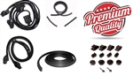 1970 - 1981 Camaro Coupe Rubber Weatherstrip Seal Kit