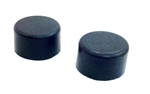 1970 - 1981 Camaro Rear Hood Adjust Rubber Bumper Stopper, PAIR 3973952