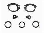 1967-1969 Door Handle and Lock Gasket Set