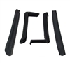 1994 - 2002 Camaro Convertiable Top Frame Rubber Weatherstripping Seal Set for Side Rails
