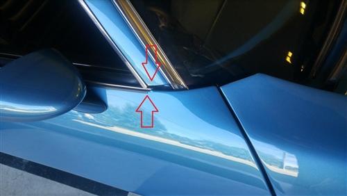 New Set of 2 LH /& RH Door Seal Kit For Pontiac Firebird Chevy Camaro 1970-1981