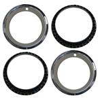 14 X 7 Wheel Trim Rings, Rally Wheel Style, Set of 4