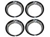 15 X 8 Wheel Trim Ring, Rally Wheel Style 4 Piece Set