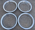 15 x 8 Wheel Trim Rings, Rally Wheel, USA Made OE Style Set 4