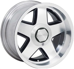 Firehawk Ronal R15 Style 5-Spoke Aluminum Wheel, Each